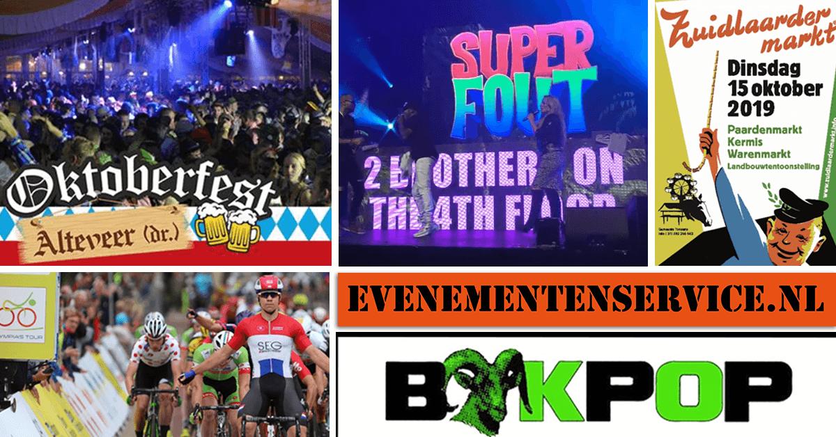 oktober evenementen